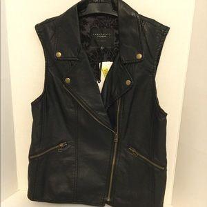New Sanctuary Clothing brand Moto vest sz Medium